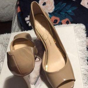 Jessica Simpson high heels!